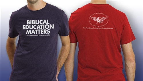Biblical Education Matters T-Shirt