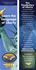 Bookmark-Learn the Language of Liberty (sold in pack of 10)