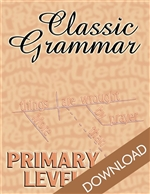 Classic Grammar: Primary Level  (Download)