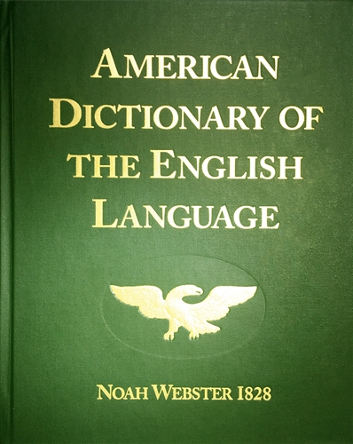 This 1828 facsimile reprint of the first American Dictionary documents the quality of Biblical education which raised up American statesmen capable of forming our Constitutional Republic. Webster gives examples from classic literature and the Bible