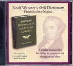 American Dictionary of the English Language, Noah Webster 1828 (CD)