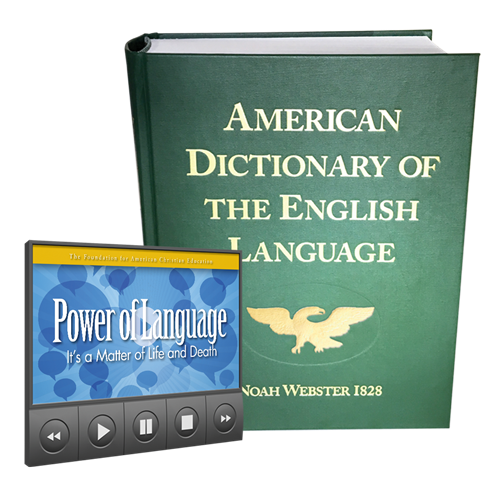 1828 Dictionary with Video Lecture - The Power of Language