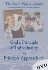 The Noah Plan Academy: God's Principle of Individuality & Principle Approach 101 DVD