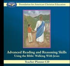 Advanced Reading and Reasoning Skills: Walking with Jesus Teacher Planner CD
