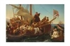 Columbus Poster - Departure of Columbus from Palos in 1492