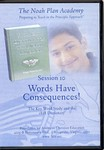 The Noah Plan Academy Session 10: Words have Consequences! (The Key Word Study and the 1828 Dictionary) DVD