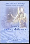 The Noah Plan Academy Session 12: Teaching Mathematics DVD